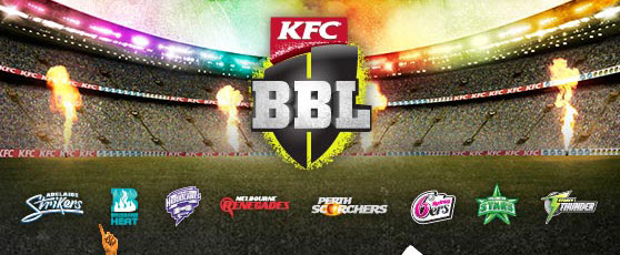 BBL T20 Match Schedule, Fixture, Players & Points Table
