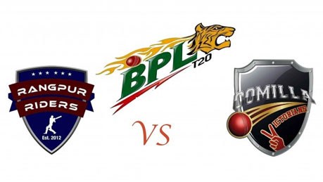 Rangpur Riders vs Comilla Victorians Live Scorecard BPL