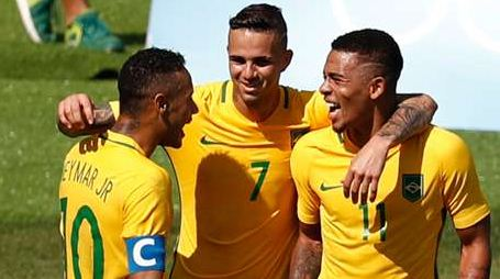 Brazil U23 vs Germany U23 Match Result in Olympic Final 2016