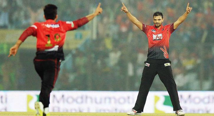Comilla Victorians has finished their Bowler Hunt program