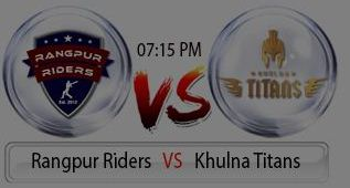 BPL 5th Match Rangpur Riders vs Khulna Titans Live at Mirpur