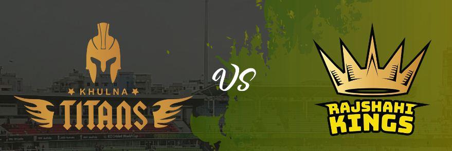 Rajshahi Kings vs Khulna Titans Match BPL 4 25 Nov