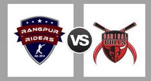 Rangpur Riders vs Barisal Bulls Match Toss, Live Score, Result