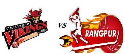 Rangpur Riders vs Chittagong Vikings Live BPL T20, Nov 9, 2016