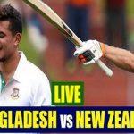 Bangladesh vs New Zealand 2nd Test Scorecard at Christchurch
