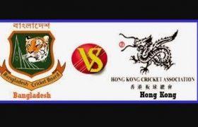 Bangladesh vs Hong Kong Live Score Emerging Cup March 27, 2017