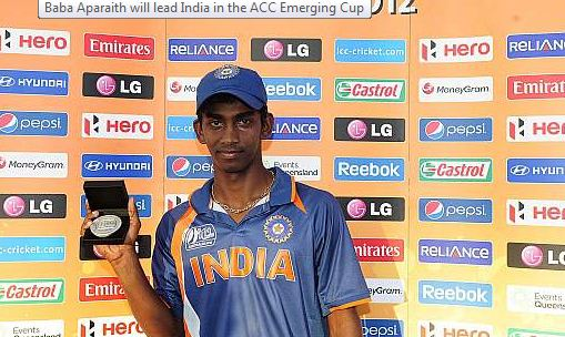 India Team Squad and Player List ACC Emerging Cup 2017