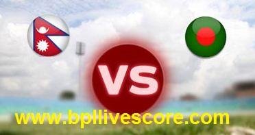 Nepal vs Bangladesh U23 Live Score Emerging Cup 28 March, 2017