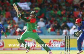 Bangladesh Tigers vs Afghanistan Bulls Live Score APL T20 2017