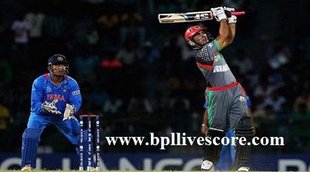 Indian Stars vs Afghanistan Bulls Live Score APL T20 2017