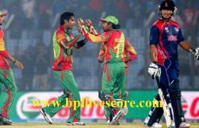 Nepal Storm vs Bangladesh Tigers Live Score APL T20 2017