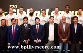 Global T20 League Live Streaming Auction and Players List