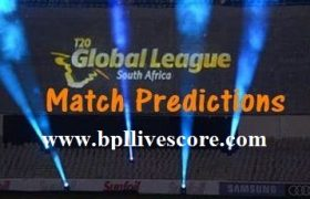 T20 Global League Today Match Predictions