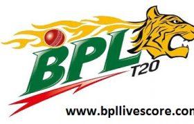 Dhaka Dynamites vs Sylhet Surma Sixers Live Score 1st Match BPL 2017