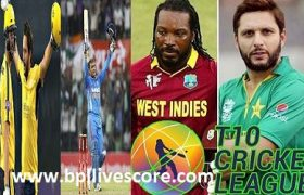 T10 Cricket League Live Score