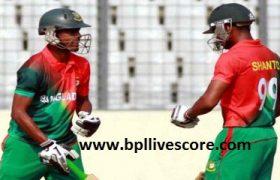 Bangladesh U19 vs Afghanistan U19 Live Score 1st ODI Match Today