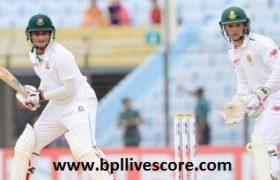 Bangladesh vs South Africa Live Score 1st Test Match Today