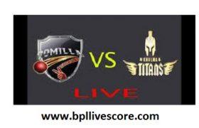 Comilla Victorians vs Khulna Titans Live On GTV Channel of BPL 2017