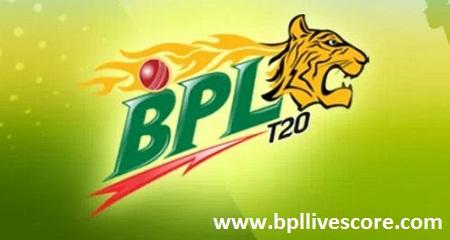 Comilla Victorians vs Sylhet Sixers Live Score of BPL 2017