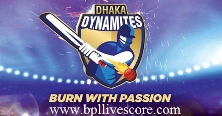Dhaka Dynamites Match Ticket, Schedule, and Points of BPL 2017