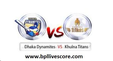 Khulna Titans vs Dhaka Dynamites Live on GTV Channel of BPL 2017