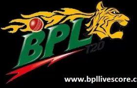 Sylhet Sixers vs Rangpur Riders Live Score of BPL T20 2017
