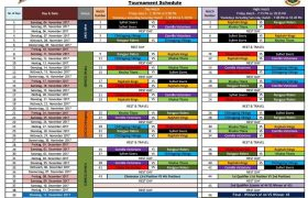 BPL 2017 Revised Schedule of Bangladesh Premier League Season 5