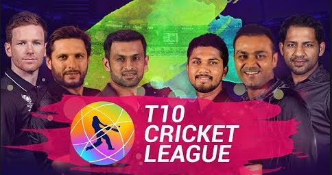T10 Cricket League Live Streaming & TV Channel 2017