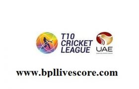 T10 Cricket League Schedule, Live Streaming and Player List
