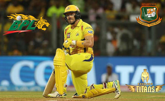 Shane Watson to play for Khulna Titans in BPL 7