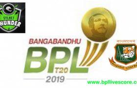Sylhet Thunder Player List and Team Squad BPL