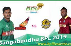 Cumilla Warriors vs Rajshahi Royals Live Score