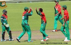 Bangladesh U19 vs Australia U19 Live Score Practice Match