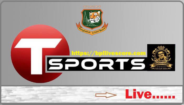 Bangabandhu T20 Cup live
